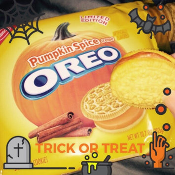 Photo of Oreo Limited Edition Pumpkin Spice Creme Sandwich Cookies uploaded by Victoria G.