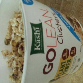 Kashi® Golean® Clusters Vanilla Pepita Cereal 1.75 oz. Cup uploaded by Adriana R.