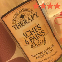 Village Naturals Therapy Foaming Bath Oil & Body Wash Aches & Pains Relief uploaded by Megan M.
