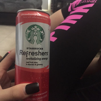 Photo of STARBUCKS® Refreshers® Strawberry Acai Lemonade VIA® Ready Brew uploaded by Nicole D.