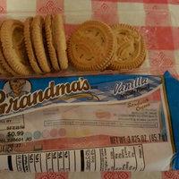 Grandma's® Vanilla Sandwich Creme Cookies 3.025 oz. Pack uploaded by Amy K.