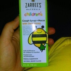 Zarbee's Naturals Children's Grape Cough Syrup + Mucus Relief - 4 oz uploaded by Caley S.