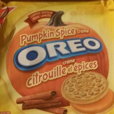 Photo of Nabisco Oreo Pumpkin Spice Creme Sandwich Cookies uploaded by Laura H.