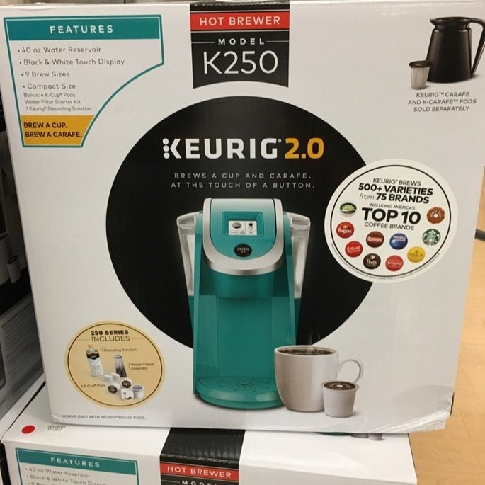 Keurig 2.0 K400 Coffee Maker Brewing System with Carafe uploaded by Shaz S.