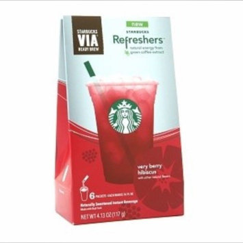 Photo of STARBUCKS® Refreshers™ Very Berry Hibiscus VIA® Ready Brew uploaded by Bri F.