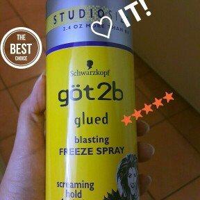 Photo of göt2b® Glued® Freeze Blasting Spray uploaded by Kammy T.