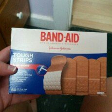 Band-Aid Tough Strips Bandages