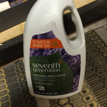 Seventh Generation Natural Dish Liquid Lavender, Floral & Mint uploaded by Renee  C.