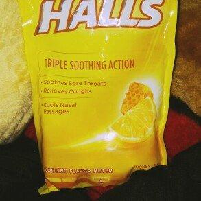 Photo of HALLS Honey Lemon Cough Menthol Drops uploaded by Sam R.