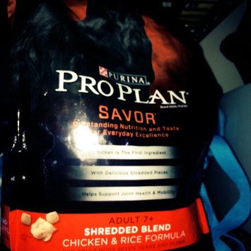 Photo of PRO PLAN® SAVOR® ADULT 7+ Shredded Blend Chicken & Rice Formula uploaded by Sarah M.