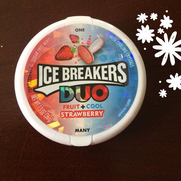Ice Breakers Duo Strawberry Sugar Free Mints uploaded by Gabriela Z.