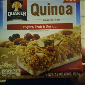Photo of Quaker® Quinoa Granola Bars Fruit & Nut uploaded by Marian F.