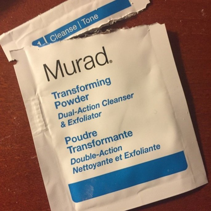 Murad Transforming Powder Dual-Action Cleanser & Exfoliator 0.5 oz uploaded by Lacey L.