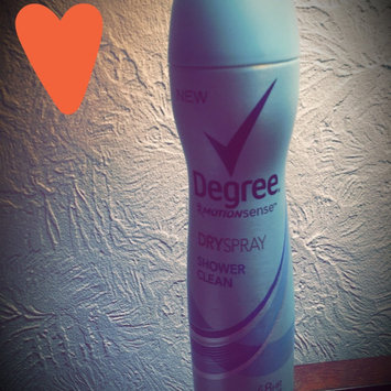 Photo of Degree Women Dry Spray Antiperspirant, Shower Clean, 3.8 oz uploaded by Heather S.