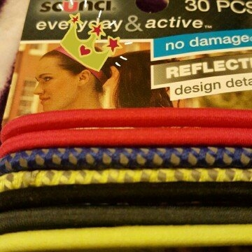 Conair Scunci Everyday & Active Hair Ties, Colors, 30 count uploaded by Gayle J.
