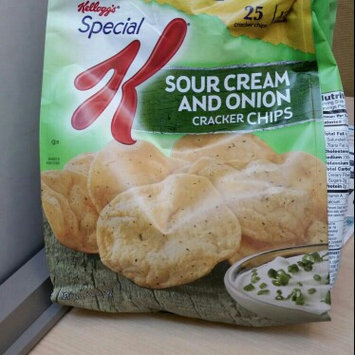 Photo of Special K® Kellogg Sour Cream & Onion Cracker Chips uploaded by Michelle  A.