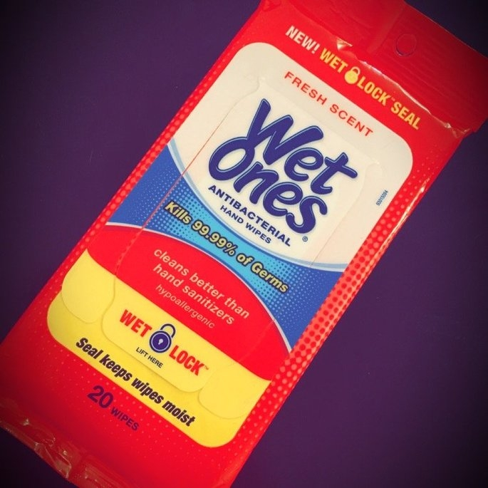 Wet Ones Antibacterial Hand Wipes Fresh Scent 20 ct uploaded by Michelle B.