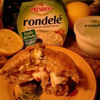 Rondele by President Garlic & Herbs Gourmet Spreadable Cheese, 8 oz uploaded by Carrie S.