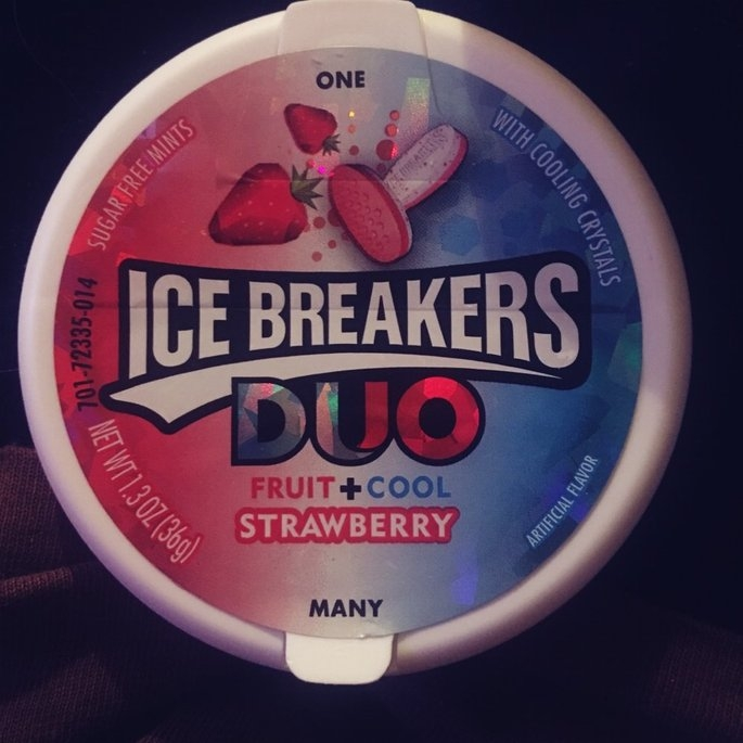 Ice Breakers Duo Strawberry Sugar Free Mints uploaded by Teran F.
