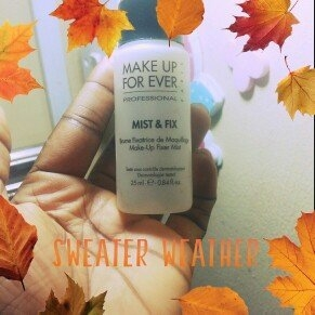MAKE UP FOR EVER Mist & Fix Setting Spray uploaded by osamagbe a.
