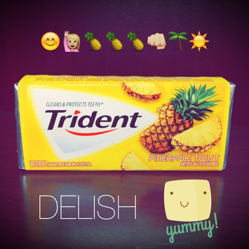 Photo of Trident Pineapple Twist uploaded by valarie a.