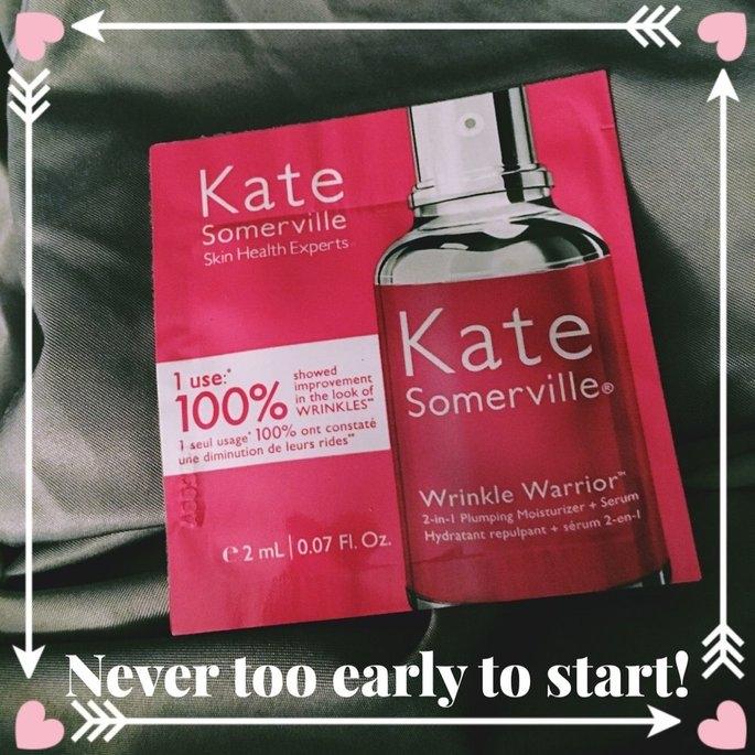 Kate Somerville Wrinkle Warrior 2-in-1 Plumping Moisturizer + Serum uploaded by Kristine P.