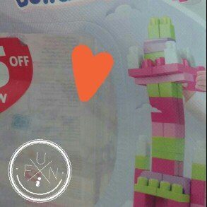 Photo of Mega Bloks First Builders Big Building Bag Pink - 80 pieces uploaded by Olga L.