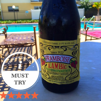 Framboise Lambic  uploaded by Jenipher J.