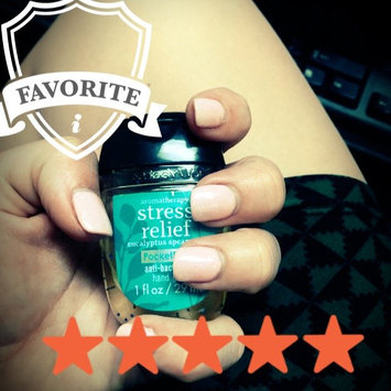 Photo of Bath & Body Works PocketBac Stress Relief Eucalyptus Spearmint Anti-Bacterial Hand Gel uploaded by Megan T.