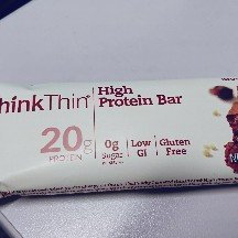 Photo of thinkThin Peanut Butter High Protein Bar uploaded by Jacqueline P.