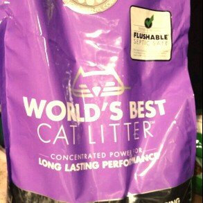 Photo of World's Best Cat Litter Lavender Multiple Cat Clumping Formula, 15 lbs uploaded by Simone B.