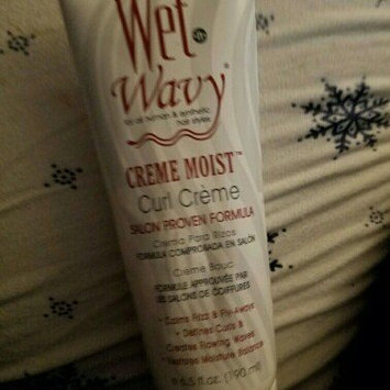 Wet n Wavy Wet-n-wavy Creme Moist Curl Creme 6.5oz by BONFI Natural uploaded by Maricela b.