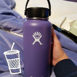 Photo of Hydro Flask Insulated Wide Mouth Stainless Steel Water Bottle, 32-Ounce [] uploaded by Sophia L.