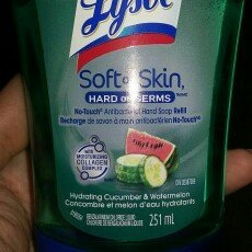 Photo of Lysol Healthy Touch Antibacterial No-Touch Refill Hand Soap uploaded by Lizbeth B.