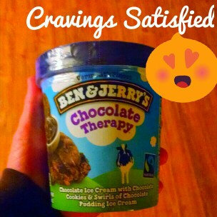 Photo of Ben & Jerry's® Chocolate Therapy Ice Cream uploaded by Kayla W.