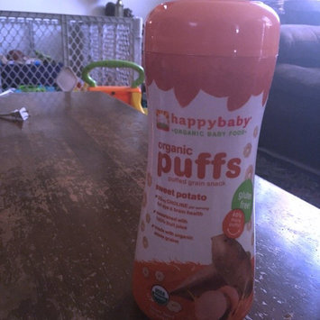Photo of HappyBaby Organic Gluten Free Finger Food for Babies Sweet Potato Puffs uploaded by Kinga S.