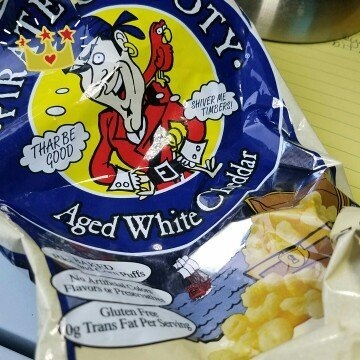 Pirate's Booty® Aged White Cheddar Rice and Corn Puffs uploaded by Andra F.
