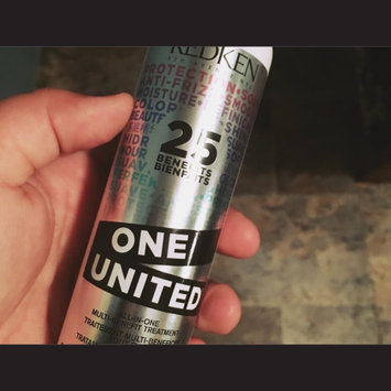 Photo of Redken One United All-In-One Multi-Benefit Treatment - 5.3 oz. uploaded by Andrea L.