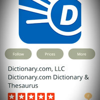 Dictionary.com, LLC Dictionary.com Dictionary & Thesaurus uploaded by Vanessa G.