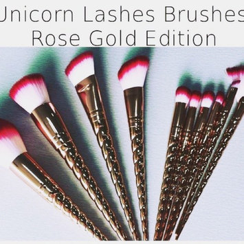 Photo of Unicorn Lashes Unicorn Brushes Kit uploaded by Kira L.