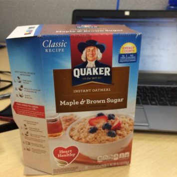 Photo of Quaker Instant Oatmeal Maple & Brown Sugar - 10 CT uploaded by Jackie V.