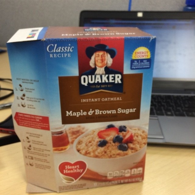 Quaker Instant Oatmeal Maple & Brown Sugar - 10 CT uploaded by Jackie V.