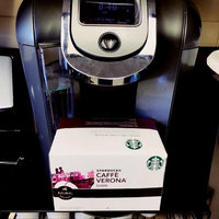 Starbucks Caffe Verona Dark Ground Coffee K-Cups uploaded by Melissa H.
