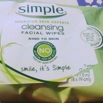 Photo of Simple Oil Balancing Cleansing Wipes uploaded by Jennifer W.