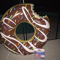 Big Mouth Toys BigMouth Inc Gigantic Donut Pool Float (Strawberry Frosted with Sprinkles) uploaded by APRIL P.