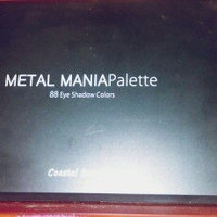 Coastal Scents - 88 Color Eyeshadow Palette - Metal Mania uploaded by Amanda Y.