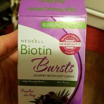 NeoCell Biotin Bursts Gourmet Biotin Soft Chews, Brazilian Acai Berry, 30 ea uploaded by Maritza b.