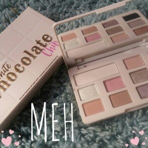 Too Faced White Chocolate Chip Eye Shadow Palette uploaded by courtney L.