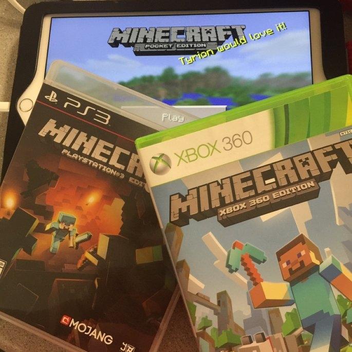 Minecraft uploaded by Kim T.
