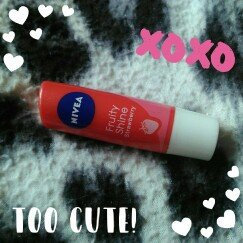NIVEA Fruity Shine Strawberry Lip Balm uploaded by Ivana S.